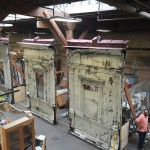 Chicago recycled an old rapid-transit station and sold its pieces at public auction