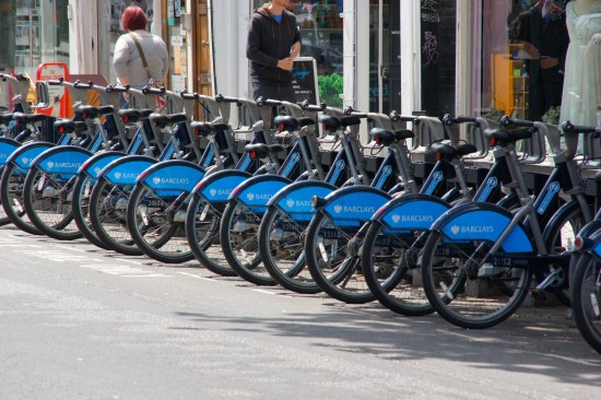 Introduced in London by mayor Boris Johnson, 'Boris Bikes' have been a hit. ( Chris Sampson / Flickr )