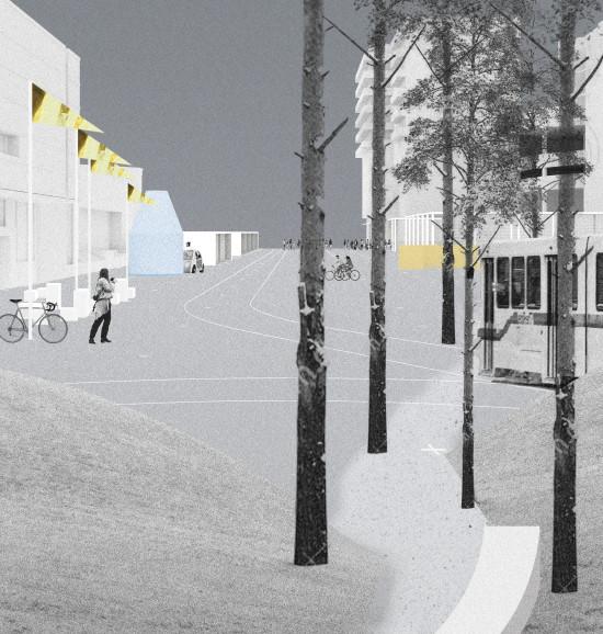 Render (Courtesy Enhanced Urban Movement via the Tallinn Architecture Biennale)