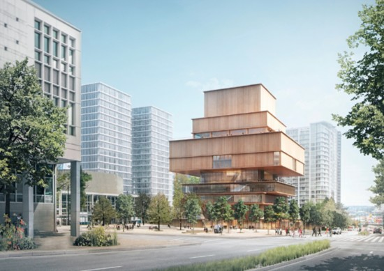 Stacked spaces for the new Vancouver Art Gallery. (Courtesy Herzog de Meuron)