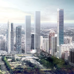 Unveiled> JAHN project towers over Chicago's South Loop