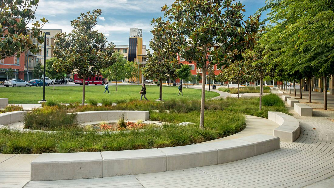 How landscape architects at swa created the country 39 s for Garden design university