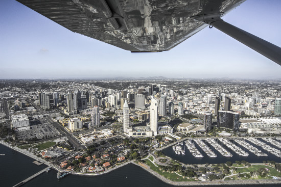 A view of a booming downtown San Diego. (Kidd Radi)
