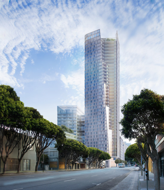 Apartments Sf Bay Area: First Renderings Revealed For SOM's San Francisco 1500