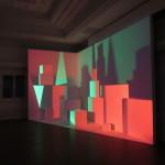 Barbara Kasten's new installation at the Graham Foundation. (Matt Shaw/AN)