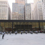 """""""We Know How To Order"""" by Bryony Roberts and the South Shore Drill Team in Mies' Federal Plaza. (Matt Shaw/AN)"""