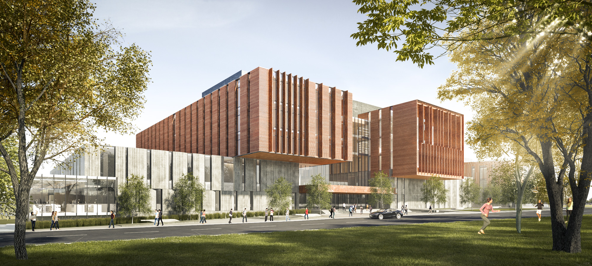 Perkins+Will unveils building for the University of ...