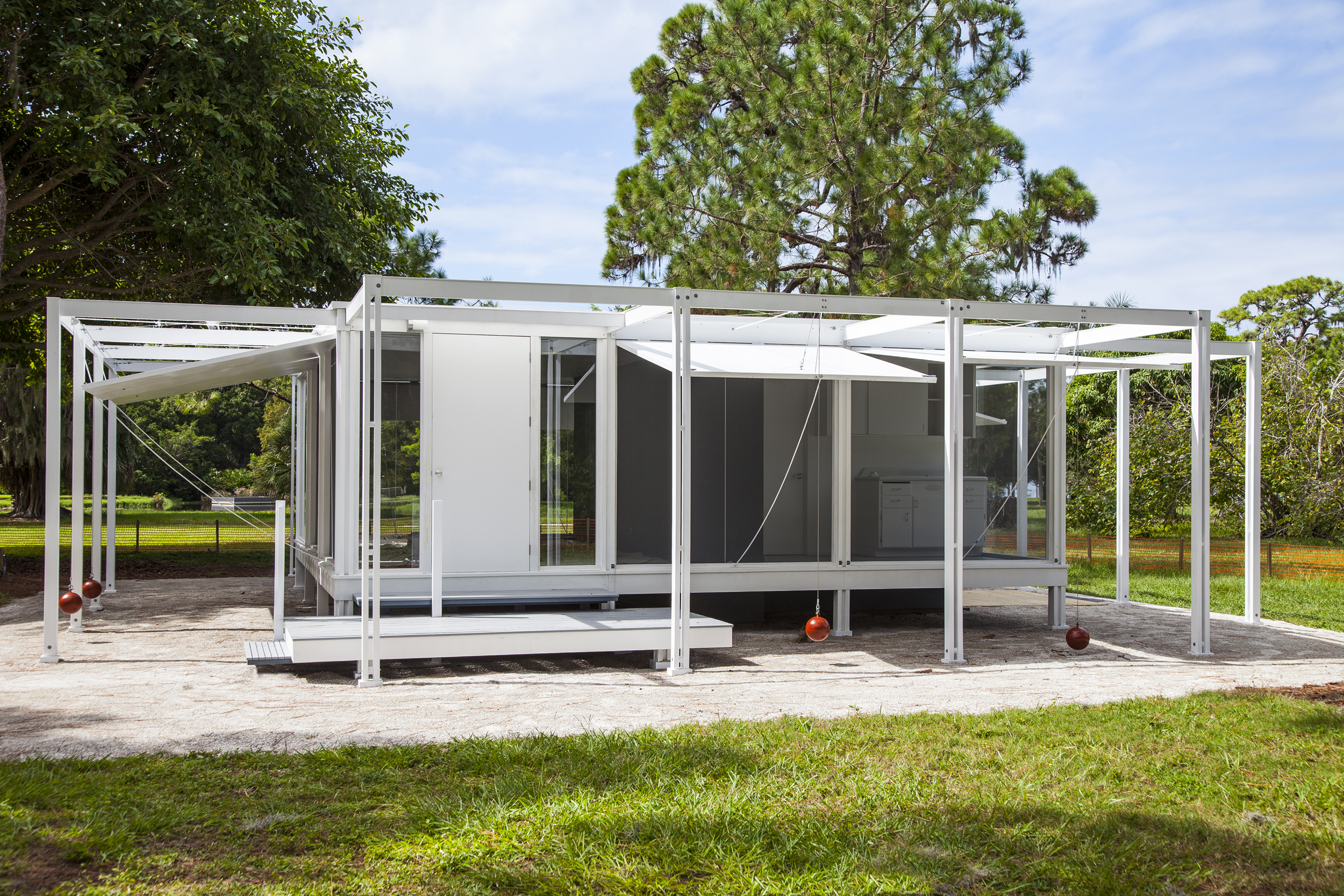 Rudolph Walker Guest House Replicated Ringling Museum