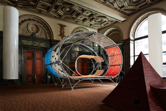 Selgascano and helloeverything at the Chicago Architecture Biennial. (Courtesy CAB)