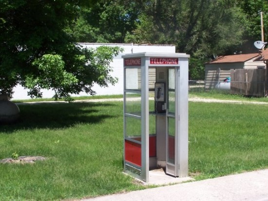 Here S How A Phone Booth On The Side Of A Highway In