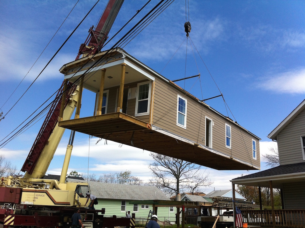 Rebuilding Union Beach Creates Modular Quot Hurricane Proof