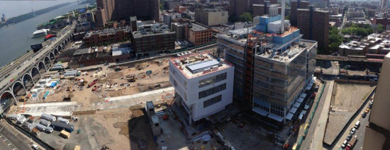 Construction site (© Courtesy of Columbia University)
