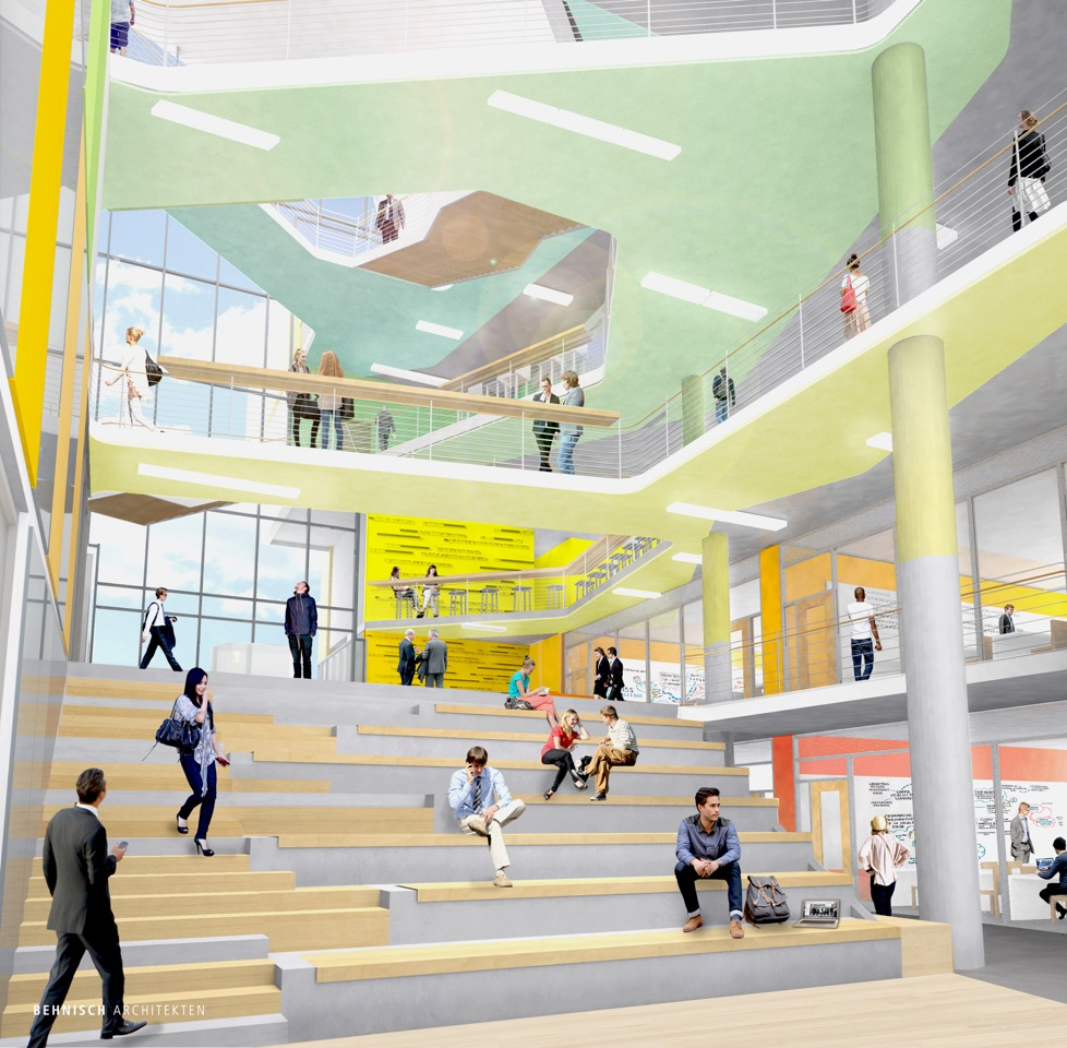 Behnisch And Srg Team Up On Urban Minded Business School At Portland State University