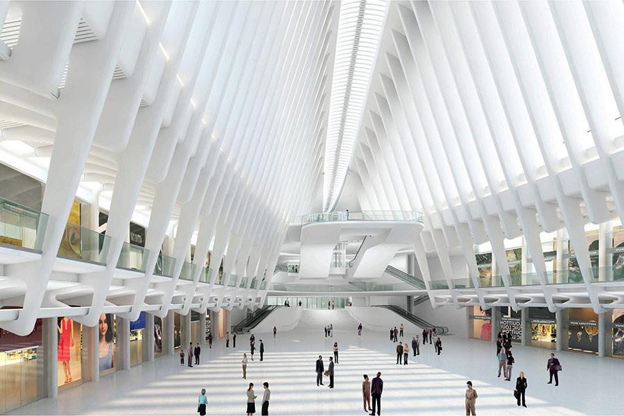 Santiago Calatrava S World Trade Center Transportation Hub