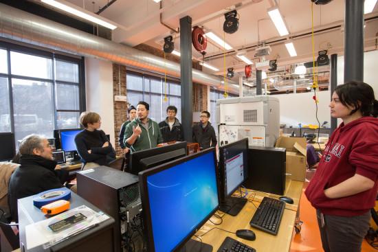 Inside RISD's new Co-Works Studio (RISD)