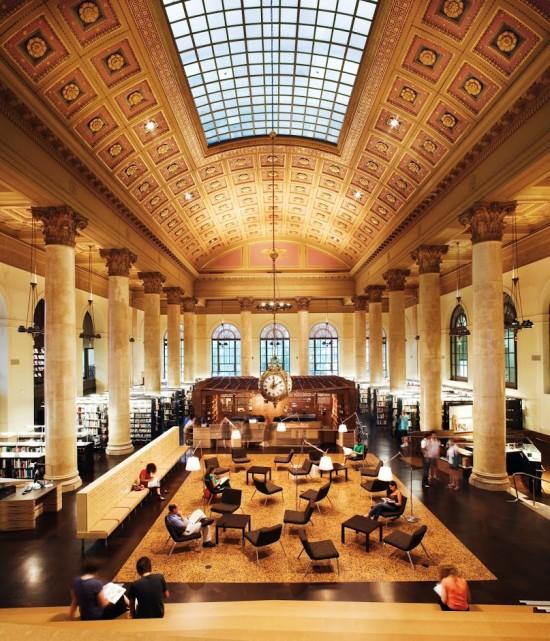 Office dA's Fleet Library (RISD)