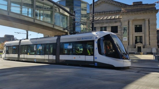 Kansas City's RideKC Streetcar will be the next Midwest system to open in early 2016. (RideKC Streetcar)