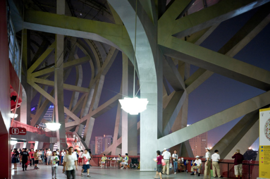 """Herzog & de Meuron won the 2015 RIBA Charles Jencks Award, an annual prize named for British architect and critic Charles Jencks that recognizes """"major international contributions to the theory and practice of architecture."""" Pictured here: the Beijing National Stadium (Courtesy Herzog & de Meuron)"""