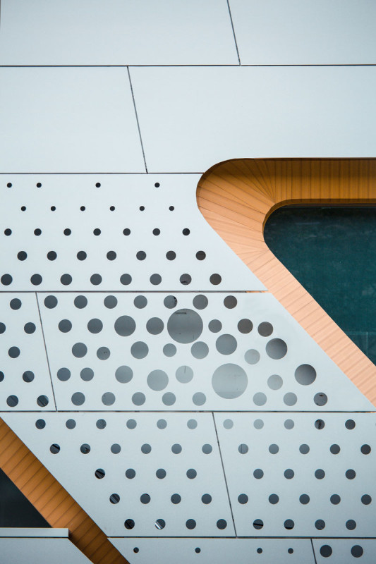 Panel detail, photo by Polar Factory, courtesy Synthesis Design + Architecture
