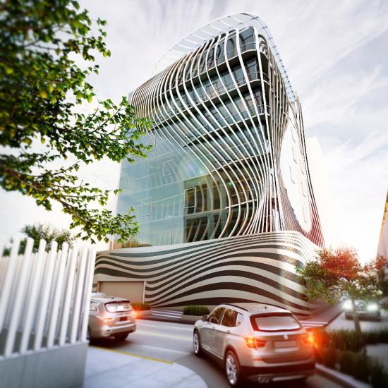 Belzberg Architects' Rio Tiber, Mexico City. (Courtesy Belzberg Architects)