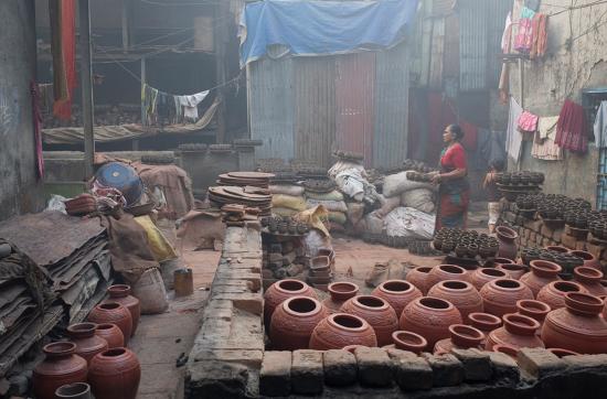 Dharavi Pottery. (Courtesy M M Flickr)