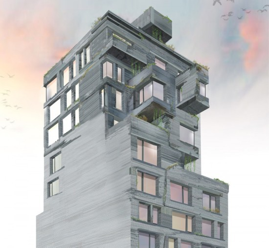 New kids on the block: 30 Warren joins DDG's 12 Warren, pictured above, on a once-sleepy Tribeca block (Courtesy March)