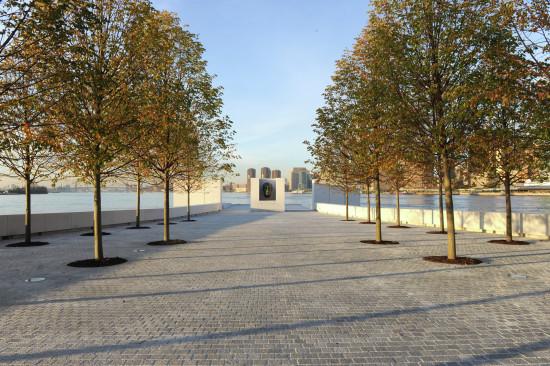 Kahn's FDR Four Freedoms Park © Diane Bondareff / Four Freedoms Park