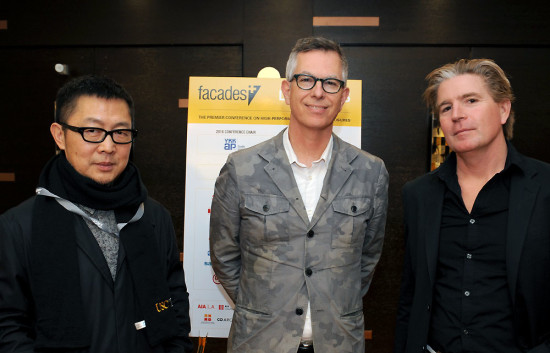 Qingyun Ma (USC), Neil Denari (UCLA Department of Architecture & Urban Design, and Michael Fox (Cal Poly Pomona) (AN)