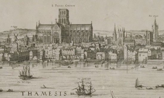 St. Paul's Cathedral (Courtesy London Metropolitan Archives)