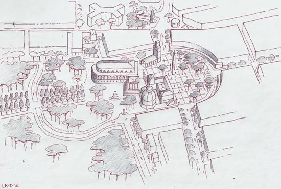 Leon Krier 39 S Classical Alternative Proposal For London Concert Hall Causes A Stir