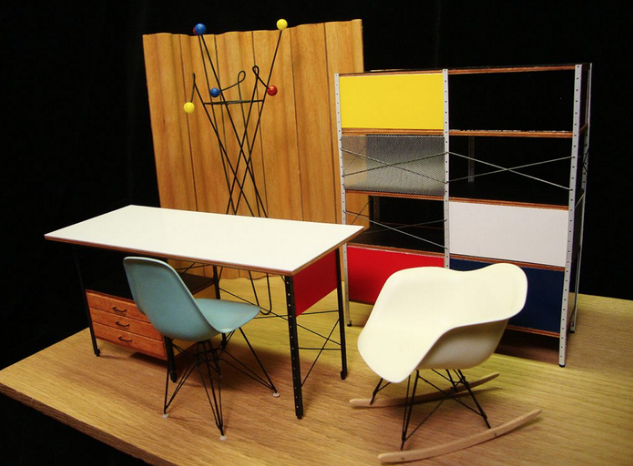 A N Blog This Designer Crafts Midcentury Modern Furniture That Could Fit In The Palm Of Your Hand