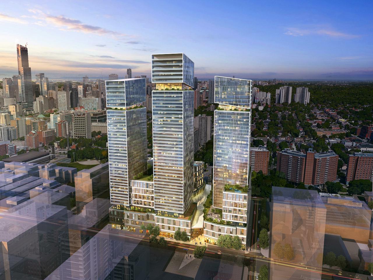 Arquitectonica Leads Design Team For Three Toronto Towers