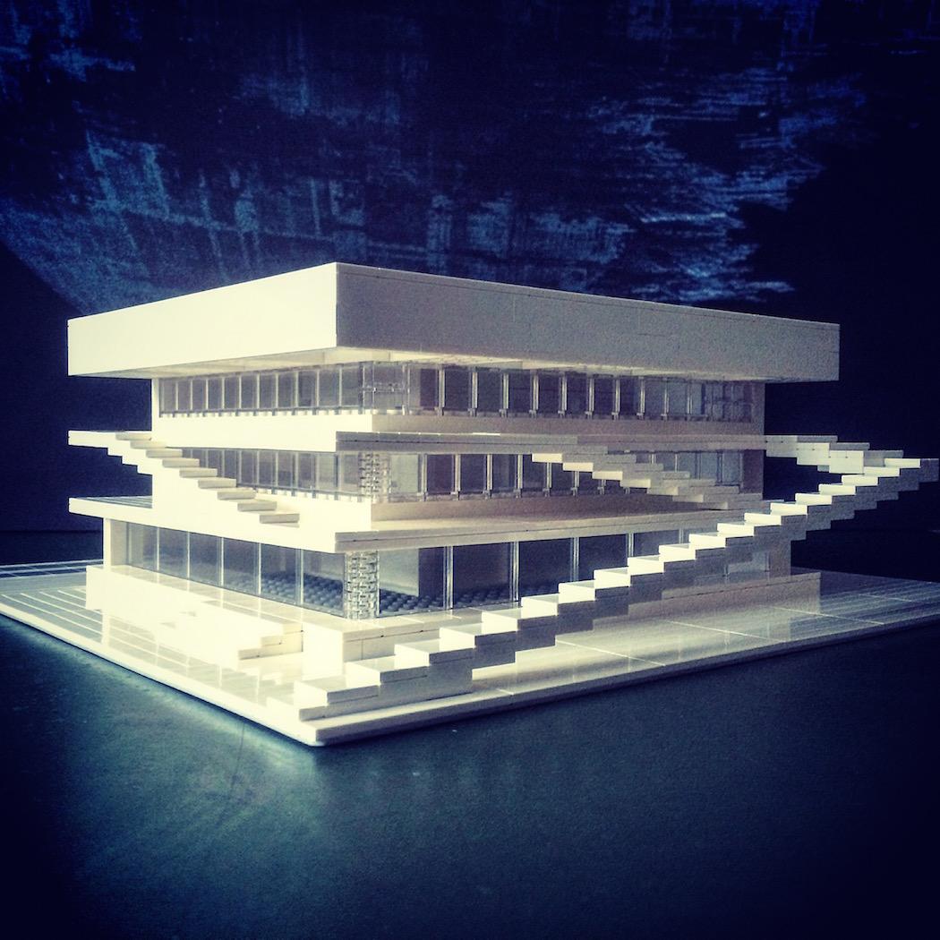 This artist uses lego to create brutalist buildings - Fotografia arquitectura ...