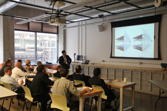 Facades+ lab workshops offer hands-on exposure to new design and fabrication techniques.