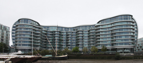 Albion Riverside apartments, designed by Foster + Partners. (Rick Ligthelm / Flickr)