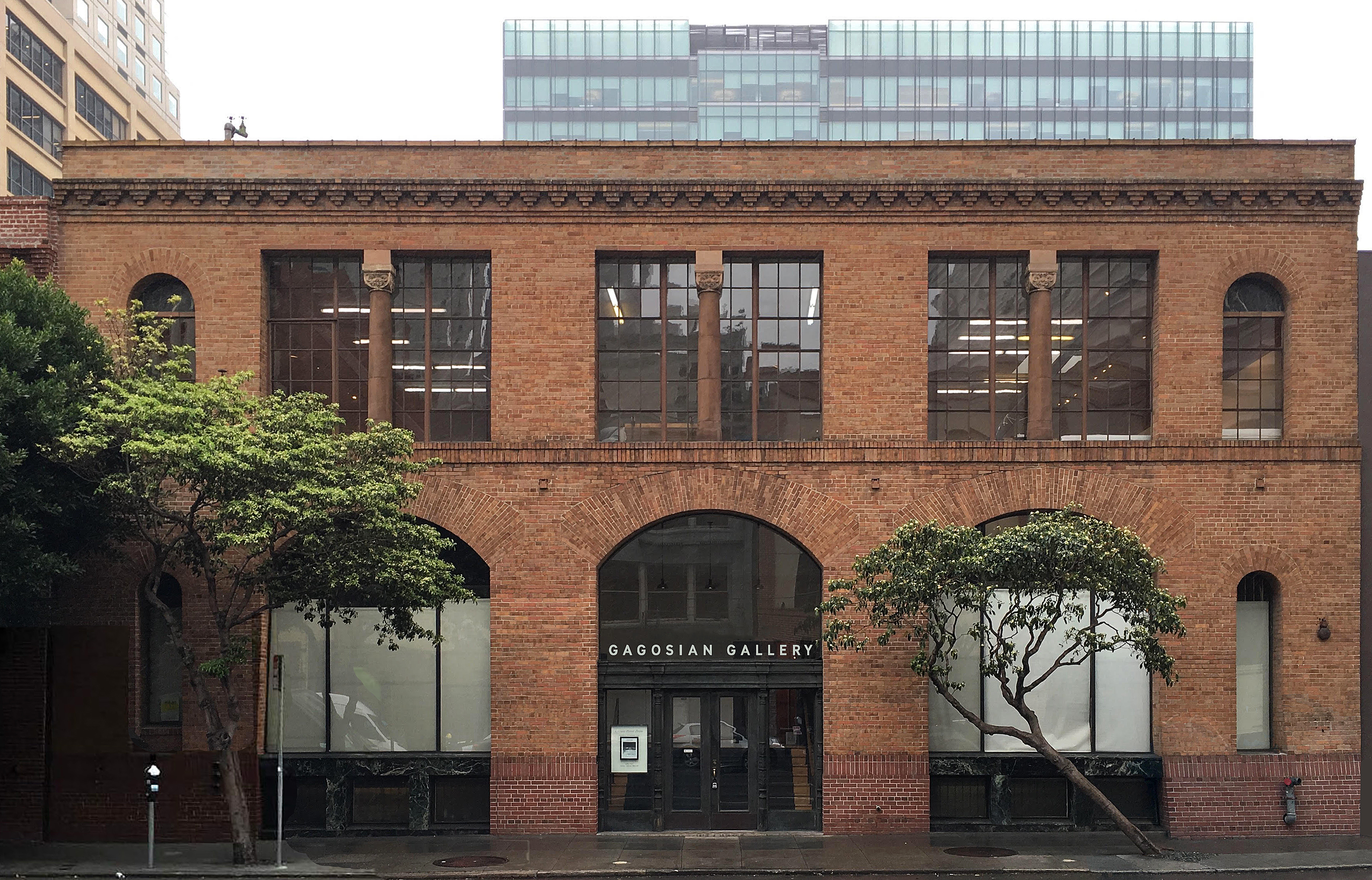 Why Releases Renders Of The New Gagosian Gallery In San