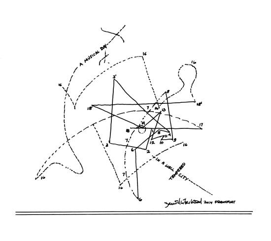 Musical Labyrinth by David Libeskind (Courtesy Cosentino)