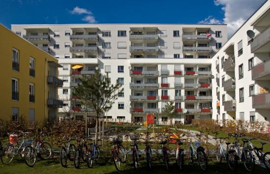New housing in Schwabing, Munich. (Courtesy digital cat/Flickr)