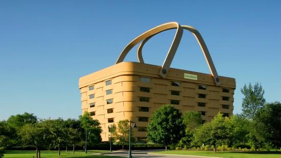 Basket builders vacate Ohio's famous basket building