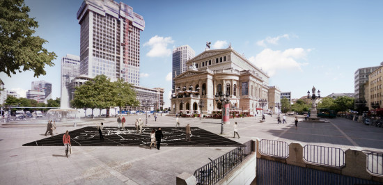 Arte Oper in Frankfurt.