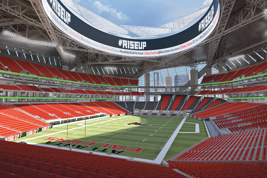 Atlanta Falcon S Stadium Archpaper Com