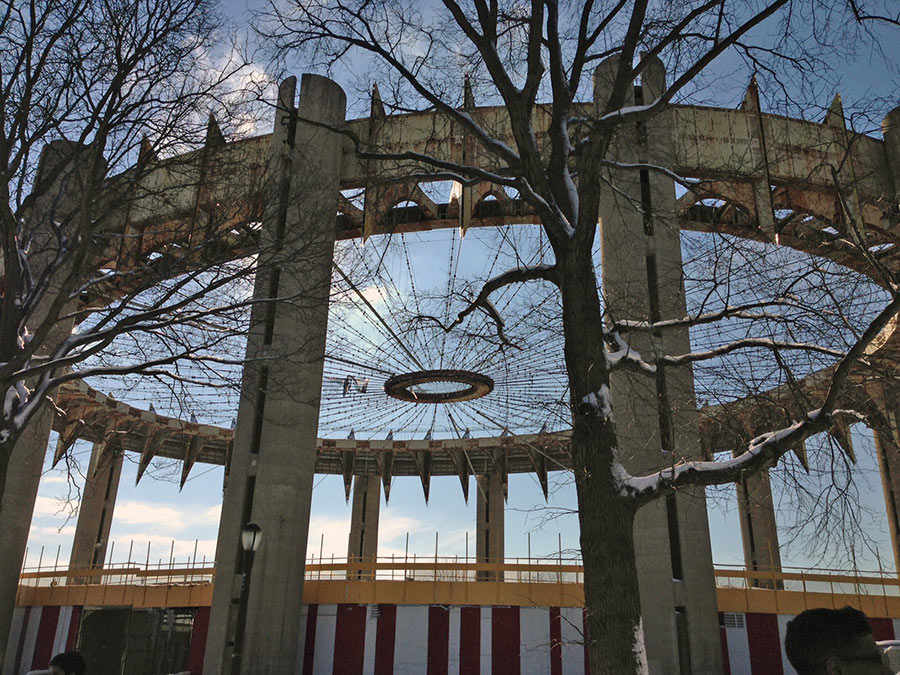 A New Day for the New York State Pavilion? & A New Day for the New York State Pavilion? - Archpaper.com