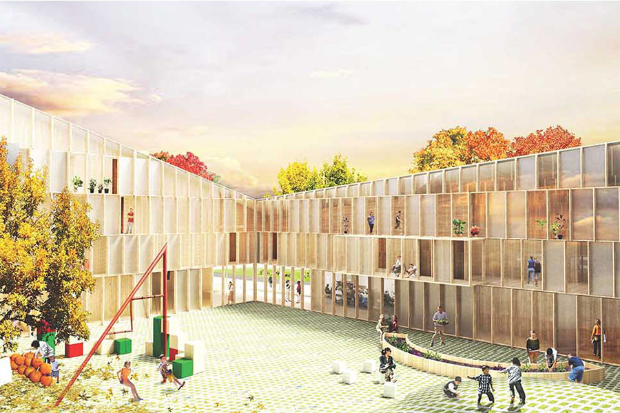 Housing for rehabilitation Home architecture competition