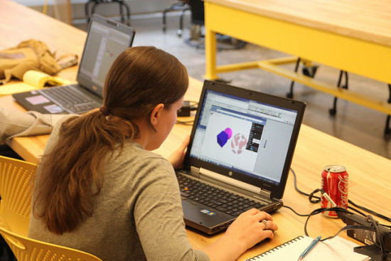 Facades+ lab workshop attendees gain hands-on exposure to new tools and techniques. (AN / Flickr)
