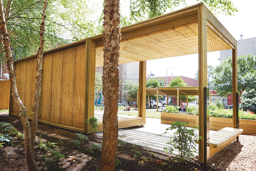 Contemporary casita for Casita plans for backyard