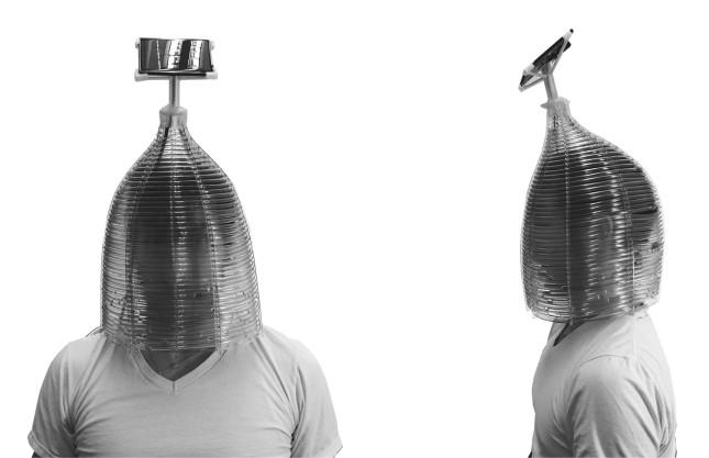 Chris Taurasi - Thermal Imaging Mask. (Courtesy AGENCY)