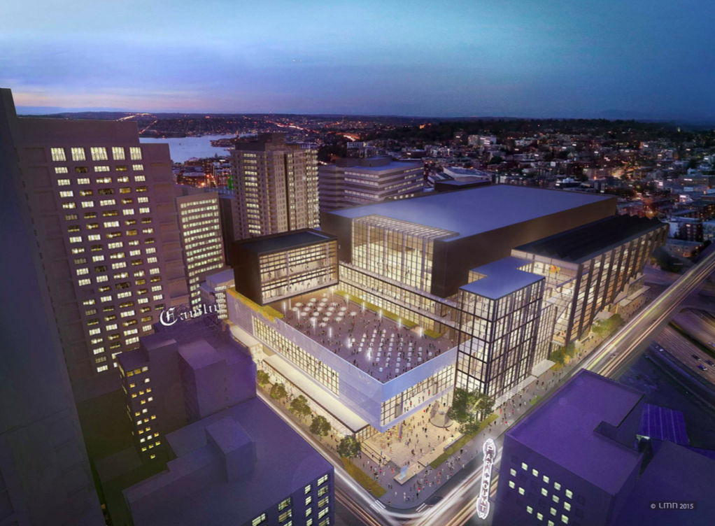 Wa state convention center expansion developing even as - Interior design jobs washington state ...