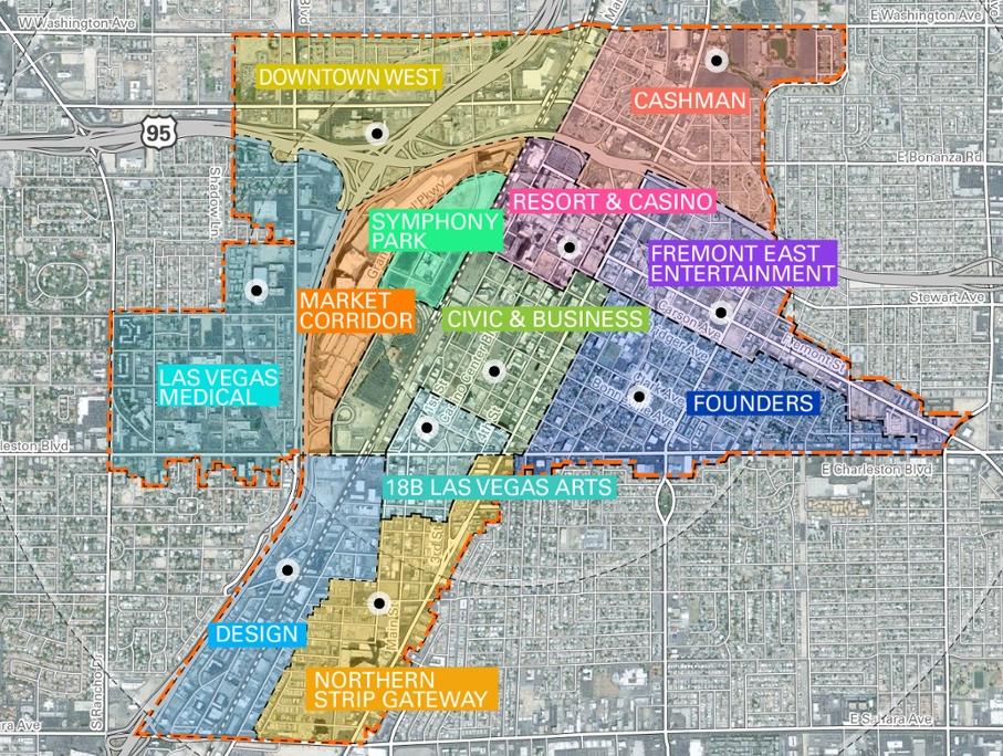 Las Vegas Is Proposing A New Downtown Master Plan