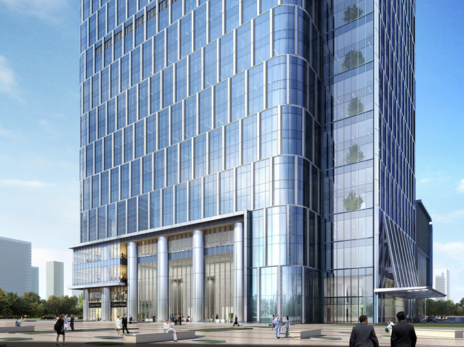 Tianjin R Amp F Guangdong Tower Archpaper Com