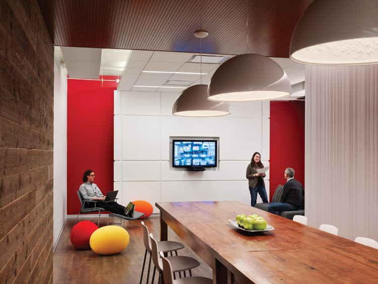 Advertising agency office interiors stunning office for Creative interior design agency